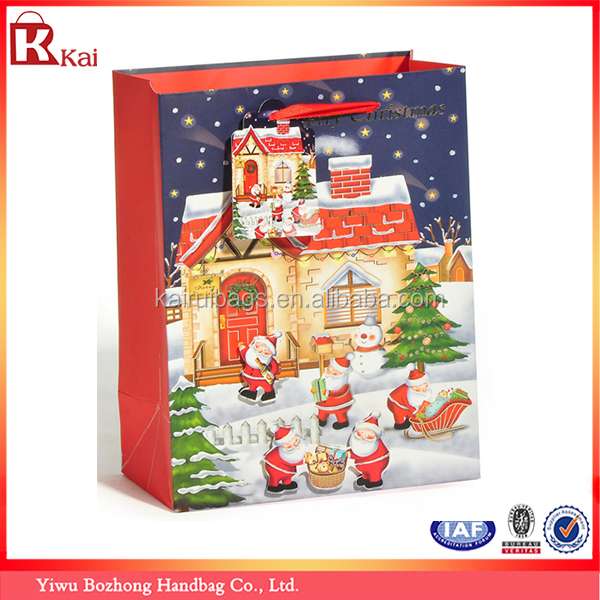 Fantastic Decorative Christmas Paper Bag & 3D Christmas Gift Bag