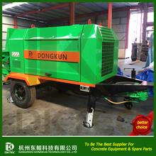 Reliable And Cheap power 92kw truck-mounted line concrete pump