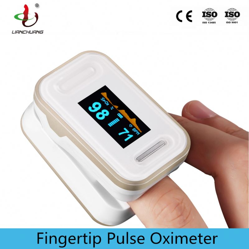 Digital Handheld Pulse Oximeter Water Proof with CE
