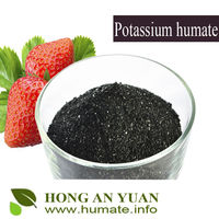 super potassium humate shiny flake from China