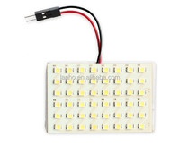 T10 W5W C5W C10W Festoon(31mm 36mm 39mm 42mm) 2 Adapters 48 LED auto Panel lamp reading Lights Car interior map Dome light 12V