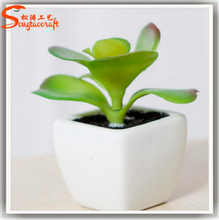 Office decoration small ornaments mini artificial potted plant