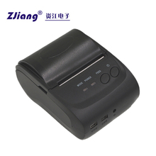 ZJ-5802 Impressora Mini Mobile 2inch Coffee Printer with Software Download for Smartphone Android Ios Laptop