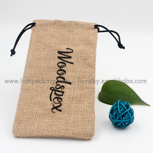 Eco friendly Hemp burlap bag supplier for sugar grain 86x183