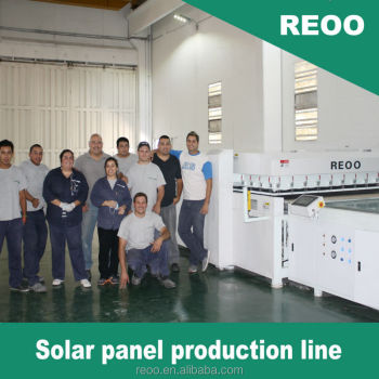 REOO turnkey project 10MW solar panel manufacturing lines