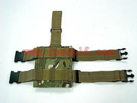 MP5 three clip molle pouch/stand up pouch