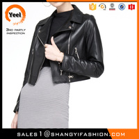 YEEL volume production europe style Warmth leather asian fashion winter coats