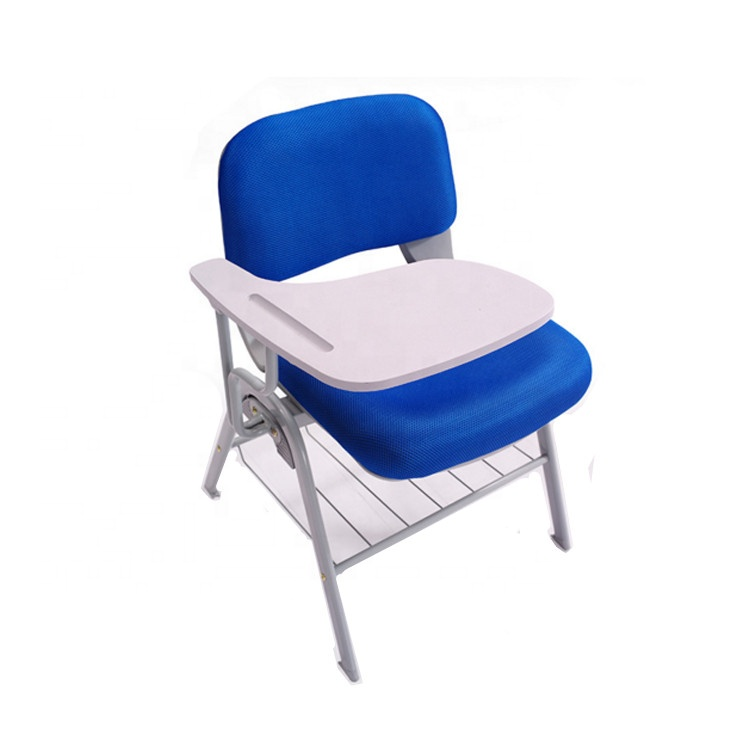 Hot Sale School Training Writing Chair with Tablet Pad