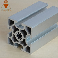 Custom T-Profile Shape Aluminum Extrusion Profile With extruded