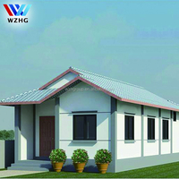 Villa,House Use and Steel Material luxury prefabricated house