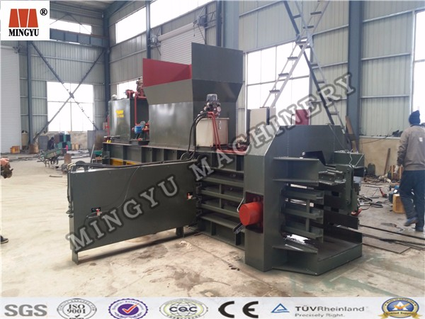 Horizontal hydraulic cardboard baler machine/press scrap machine/waste paper baling machine