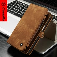 Top Sale Thin Flip Stand PU Leather Phone Case For Samsung Galaxy Note 7 Case