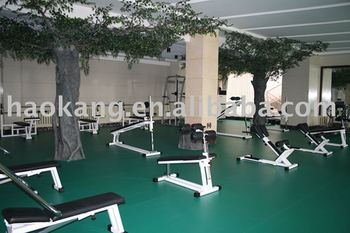Indoor PVC Vinyl Sports Gym Flooring Covering