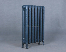 Cast iron radiators with decorative pattern