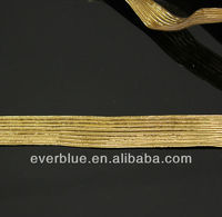 gold elastic braid bands