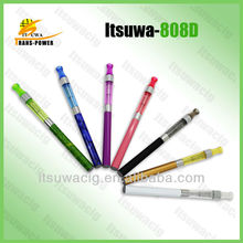 hot new products for 2014 ITSUWA 1.0ml healthy mini e-cigarette 808d electronic cigarette Shenzhen China wholesale