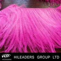 Good Quality 10-13cm Two Layers Ostrich Feather Trimming Fringe