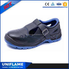 Steel Toe Cap Sandal Safety Shoes Men Closed Toe Sandals Breathable