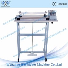 SF-400 foot operated plastic bag heat sealing machine with cutter