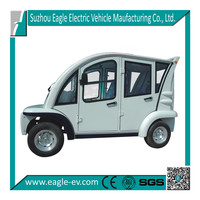 Electric Closed Passenger Car, EG6043KF , 4 seats, CE approved