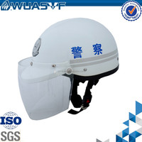 motorcycle safety helmet for police with ABS material