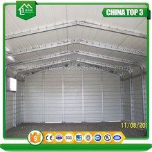 Professinal design low cost prefab steel warehouses/garage for sale