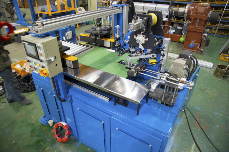 Wire and Cable Coil Wrapping Machine
