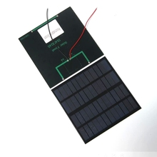 BUHESHUI 3W 12V Epoxy Solar Panel Photovoltaic Polycrystalline Solar Cell Mini Sun Power Energy DIY Solar System 145*145MM