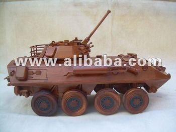 LAV25 wooden replica