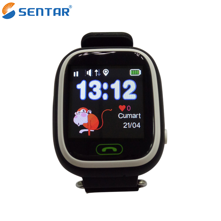 Good Quality V80-1.22 GPS Tracker watch with gps locator Kids Watch Tracking Device Smart Bracelet