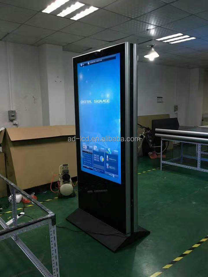 double-sided digital signage/ digital poster / totem
