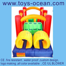 inflatable mini bounce for family /moon bounce for sale/kids inflatable bounce bed