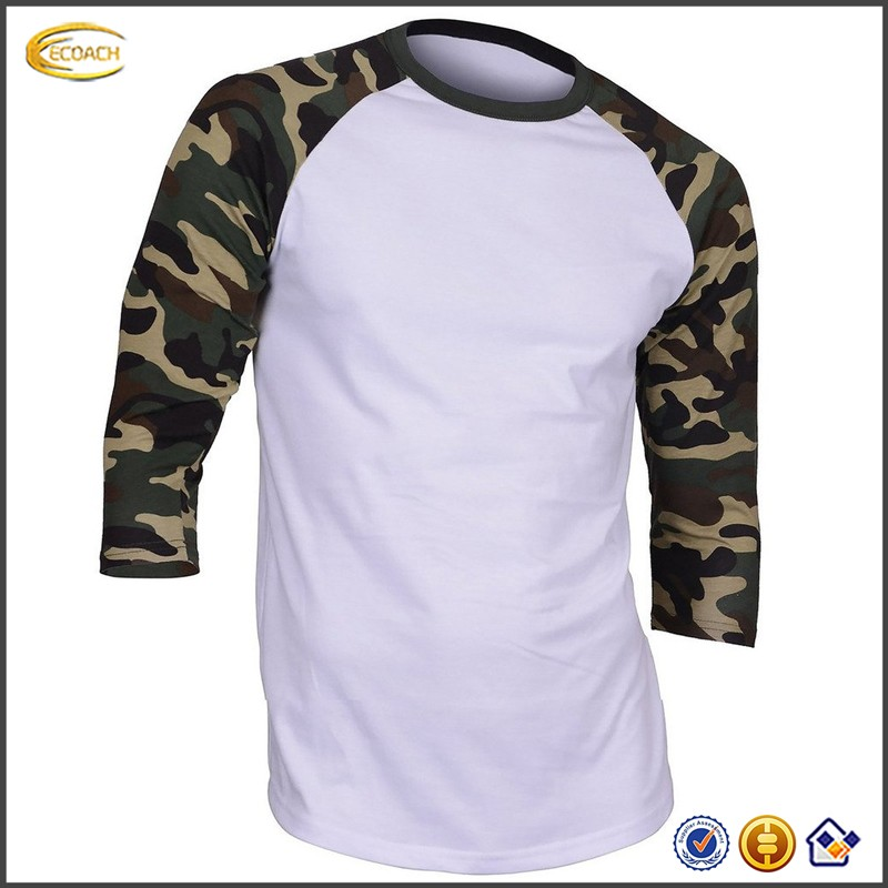 Sample Order Payment Men Casual Three Quarter Sleeve Crew Neck Baseball T-<strong>shirt</strong> Patchwork Simple Design Comfortable Jersey <strong>Shirt</strong>