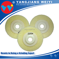 Wholesale stones and ceramics surface sponge polishing pad