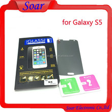 New design for Samsung S5 privacy,anti peeping tempered glass screen protector film