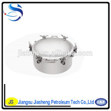 stainless steel Tanker Manhole cover/ oil tank truck cover