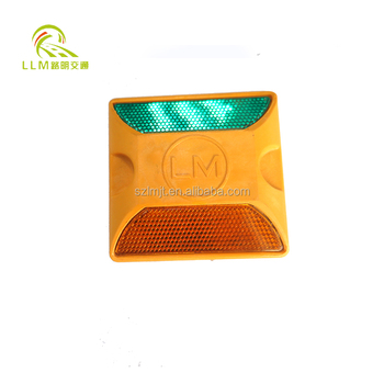 Good quality high resistance cat eye plastic road reflector