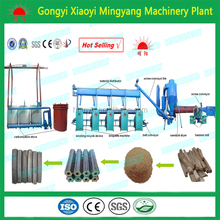 Factory price with CE ISO wood sawdust corn cob charcoal briquette machine 008615803859662