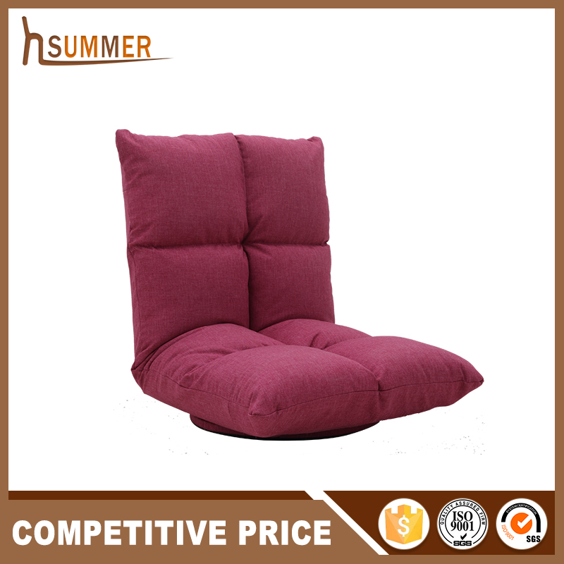 Super Comfortable Adjustable Folding Floor Chair Fabric Sofa