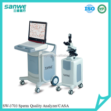 Medical Software SW3702 Sperm Analyze Instrument,Sanwe Laboratory Equipment Computer Assiated Sperm Quality Analyzer