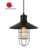 Antique Black Metal Shade Hanging 1-light Kitchen Pendant Light