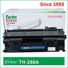 Compatible Black toner cartridge CE505A / 505A for HP