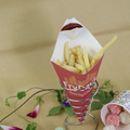 FDA SGS Certification paper cone shape for fries packaging