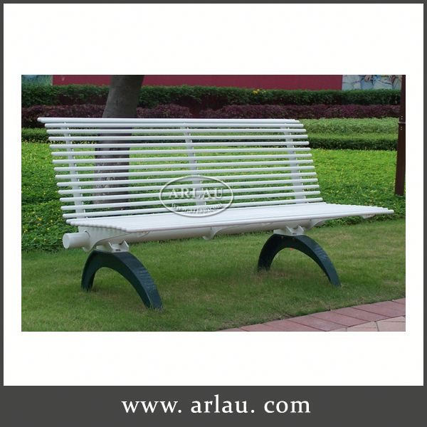 Arlau Park Bench Parts, Solar Power Led Outdoor Garden Bench, Park Bench Parts