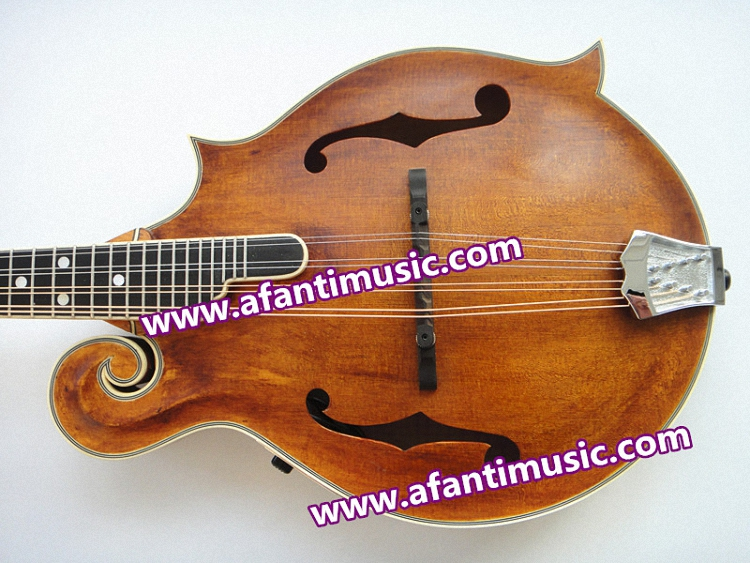 Afanti Music Electric Mandolin with EQ (AM-F90CF)