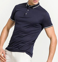 Online Shopping China Clothes Your Own Brand Clothing Plain Cotton Embroidered Muscle Fit Men's Polo shirt