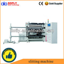 sheer plastic shrink film slitter rewinder machine