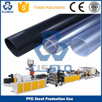 CE Standard High Quality PVC Transparent Floor Sheet Making Machine