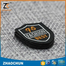 Customized Logo Patch Woven Label for Wholesale