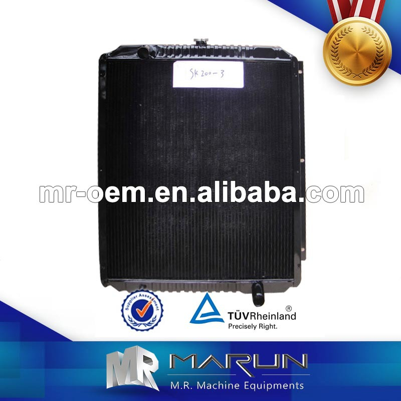 SK200-3 Radiator Engine Mitsubishi 6D31 Hydraulic Oil Cooler